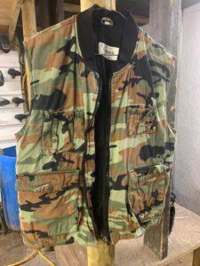 Padded flack jacket